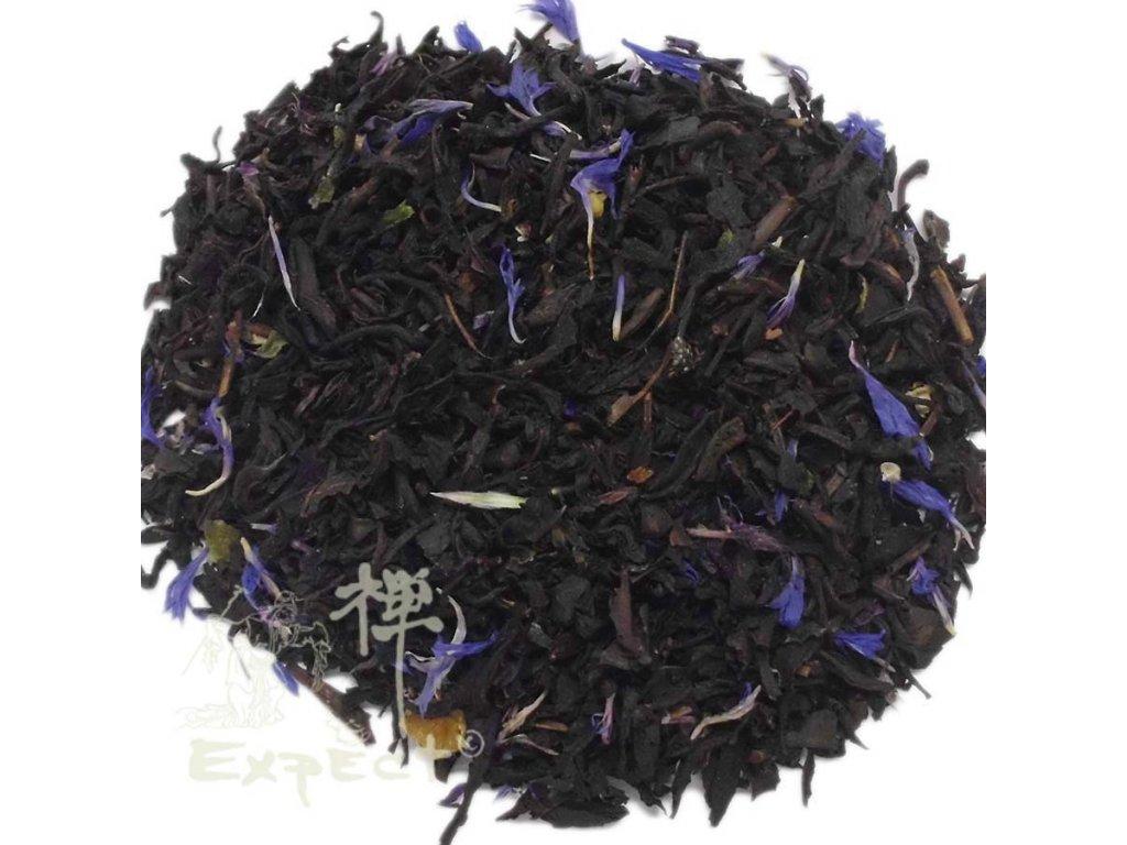 Aromatizovaný čaj Earl Grey blue flower