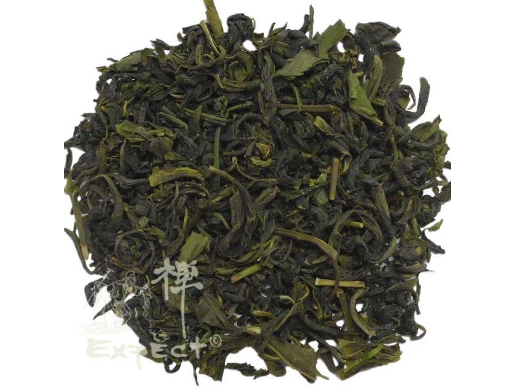Zelený čaj Japan Kamairicha