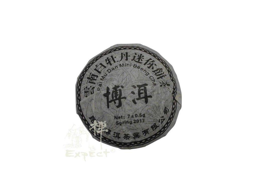 Čaj Yunnan Pai Mu Dan Beeng Cha Ming Qiang 2017 6g