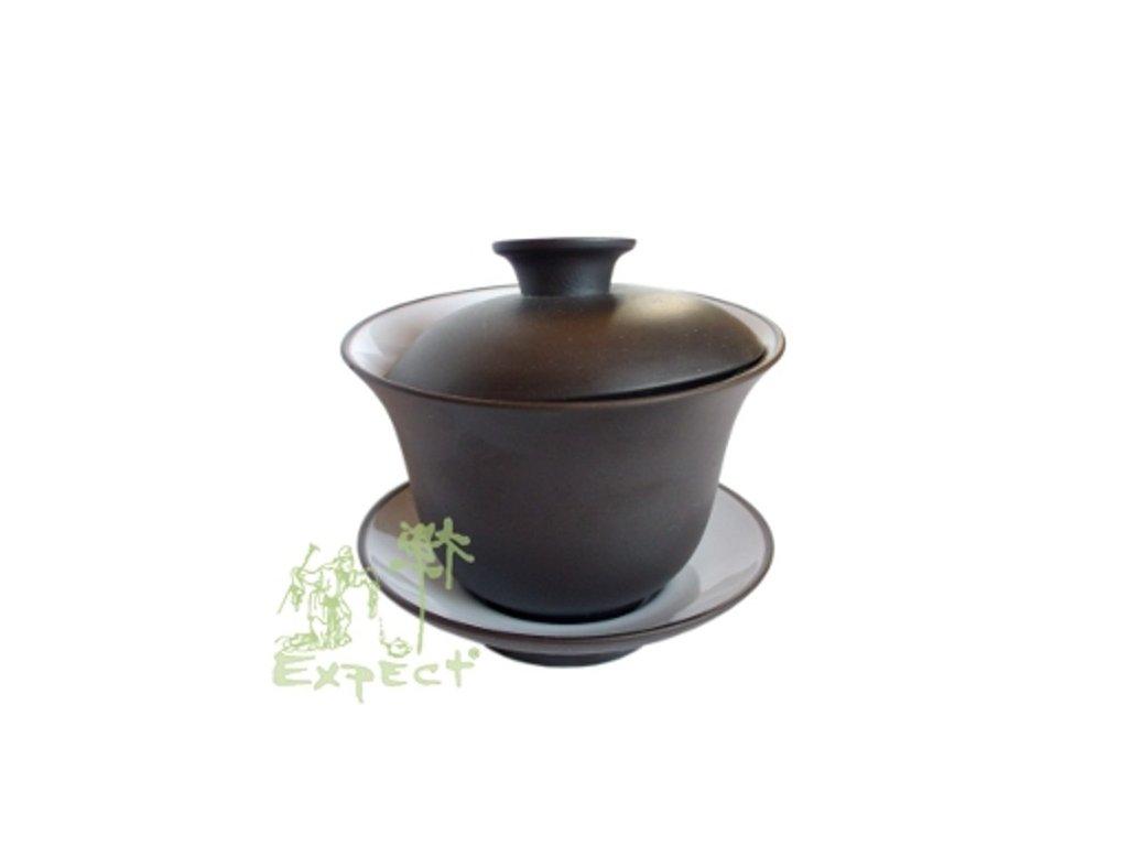 Zhong (Gaiwan) miska na čaj / keramický-Yixing / 8cm