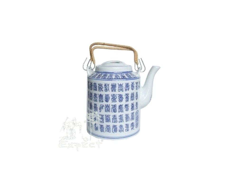 Konvička na čaj Jangxi Kaligrafie 1,3l