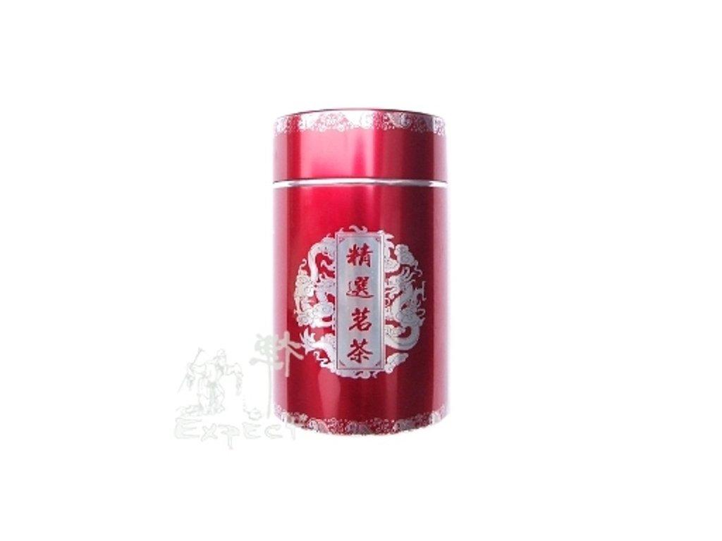 Čajová dóza alloy red cca200g