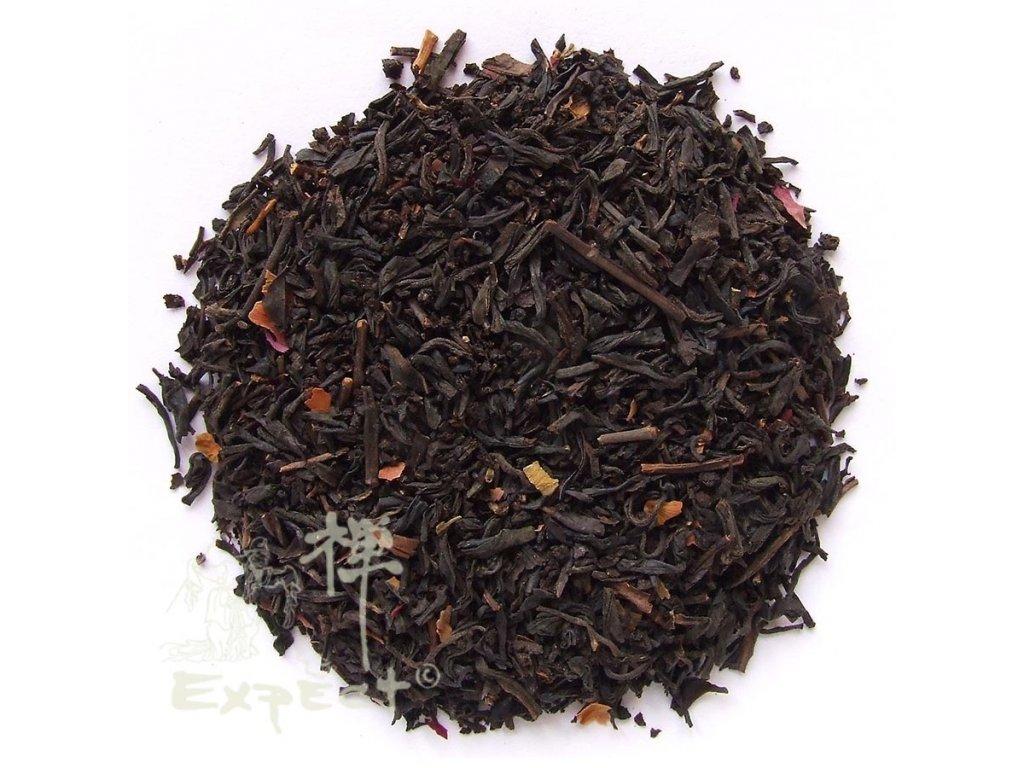 Aromatizovaný čaj Růžový krém black