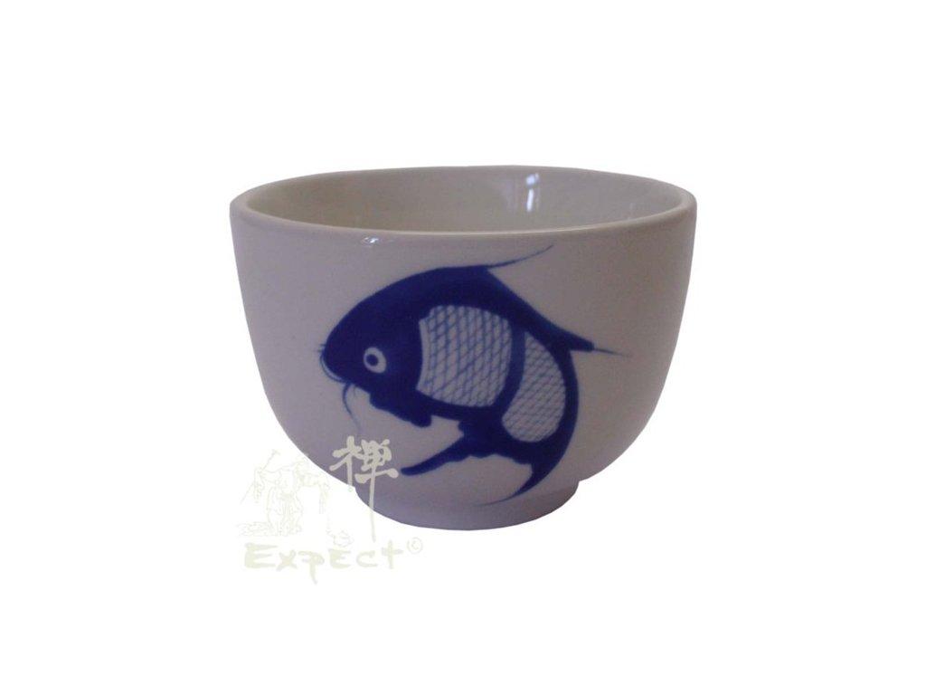 miska China porcelán Kapr 7cm