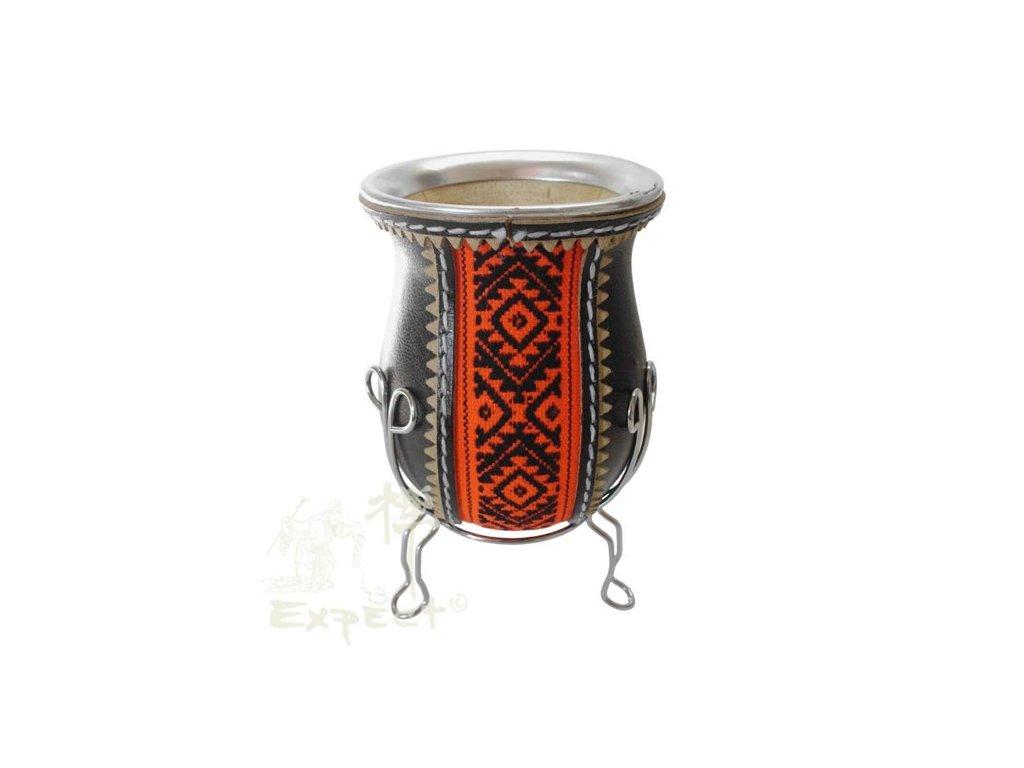 Kalabasa Porongo černo-červená/ kůže