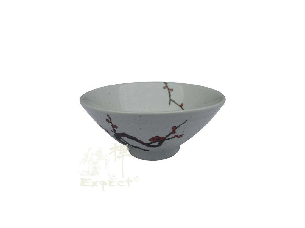 miska China porcelán Plum Blossom 11,5cm