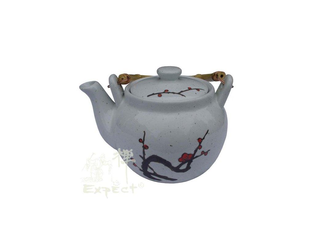 Konvice na čaj čina porcelán Plum Blossom 1000ml