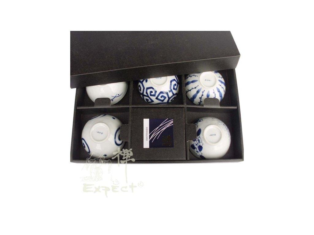 souprava misek Japan porcelán 5ks set 11x8cm