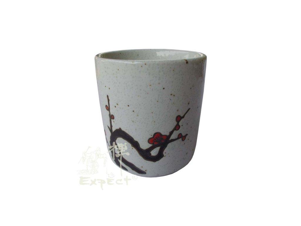 kalíšek China porcelán Plum Blossom