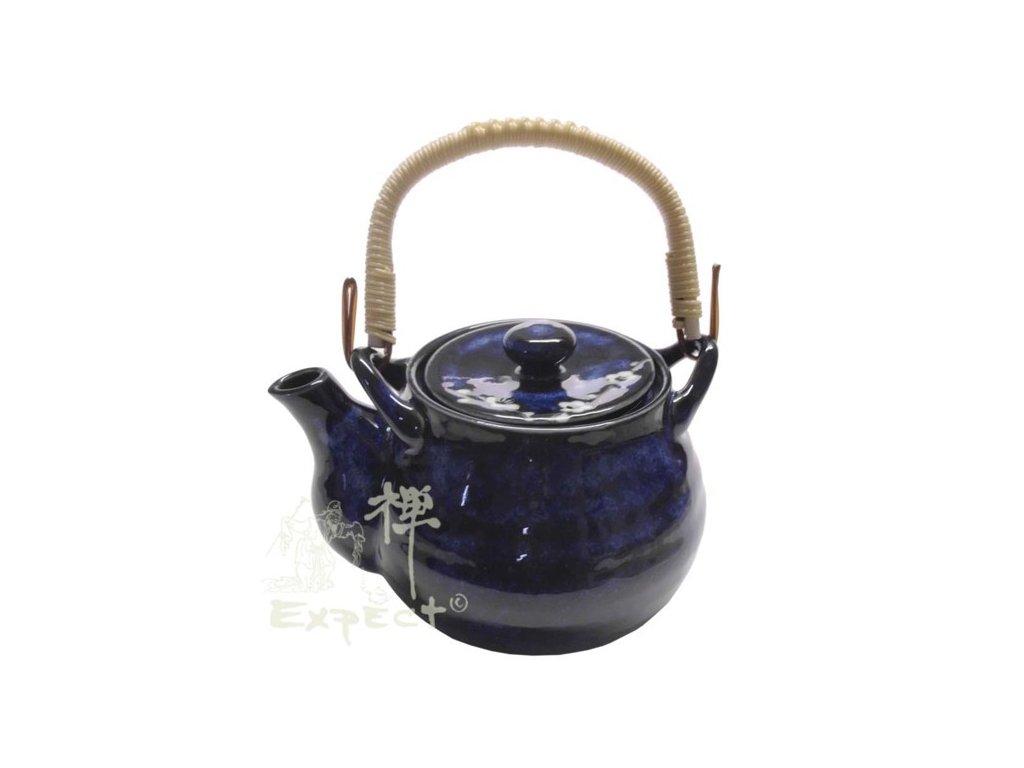 konvice porcelánová Japan Blue 600ml
