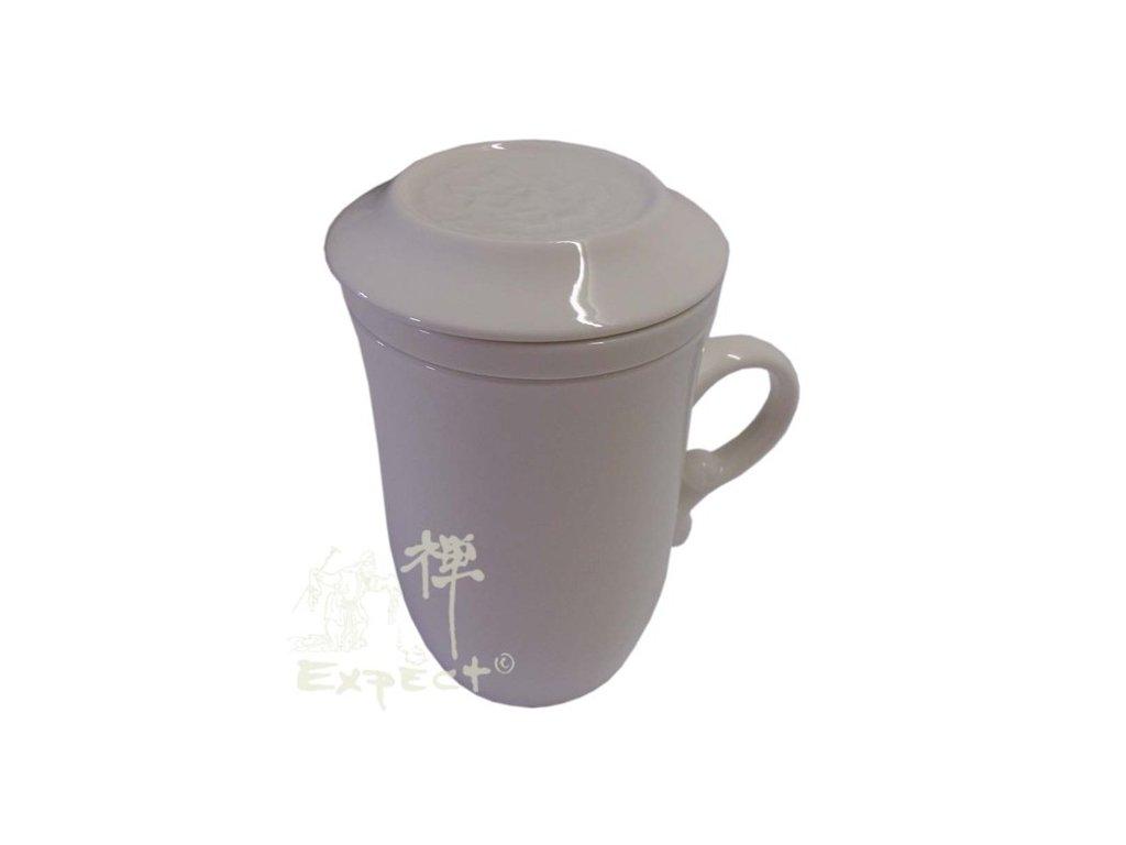 bylináček China porcelán bílý 10cm