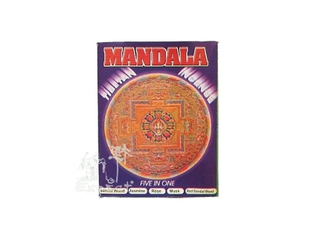Nepal Tibetan Mandala /5x12ks