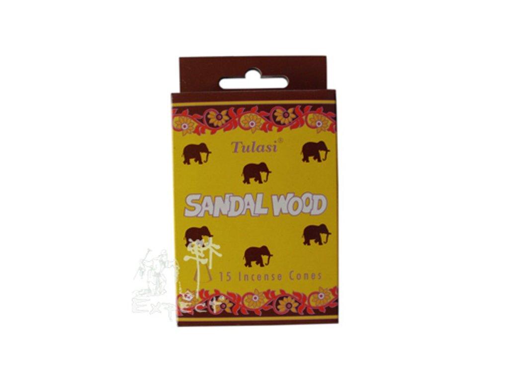 Indie Sandalwood dhoop Tulasi Sloni