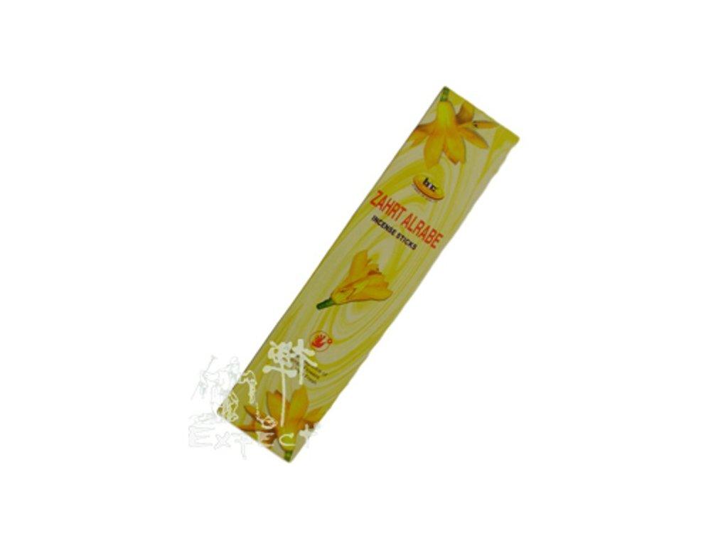 Zahrt Alrabe Champa flowers/ krabička