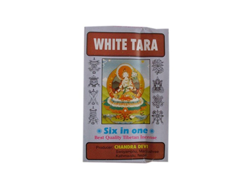 vonné tyče Nepal White Tara 6v1