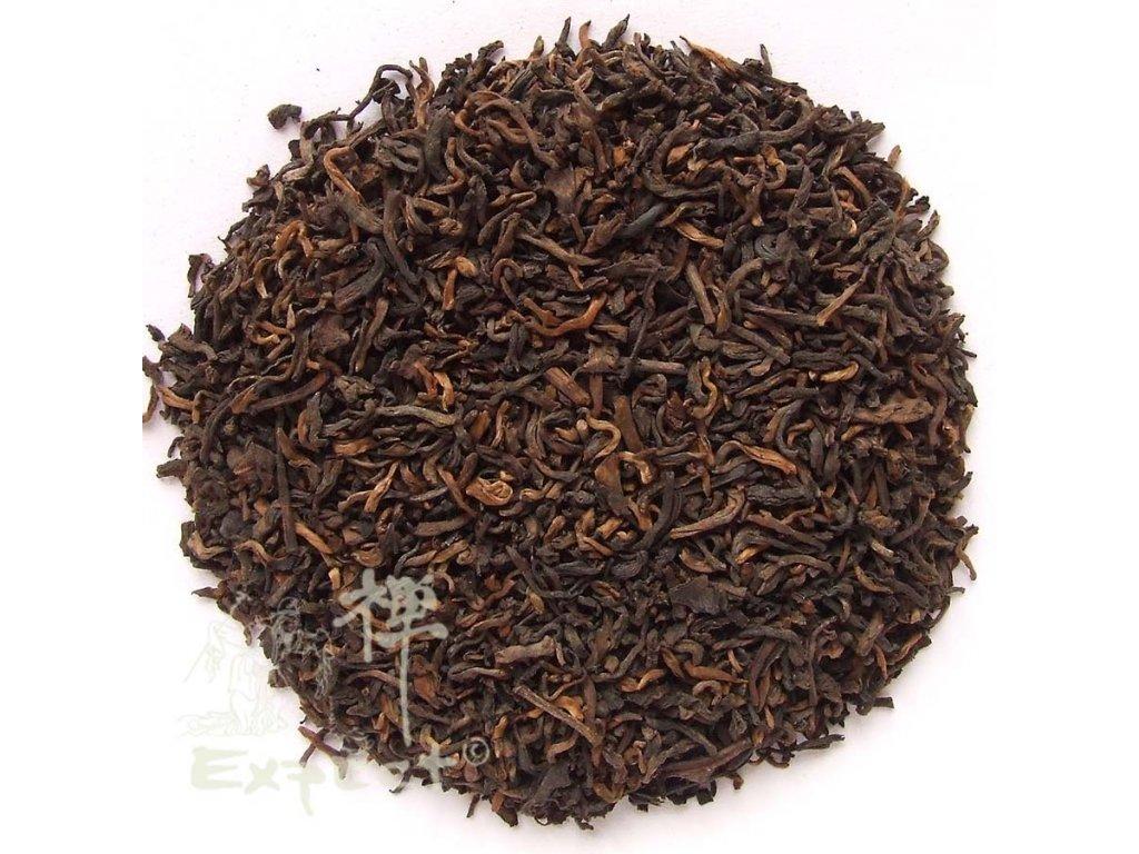 Čaj pu erh Yunnan Pu Erh King tmavý typ