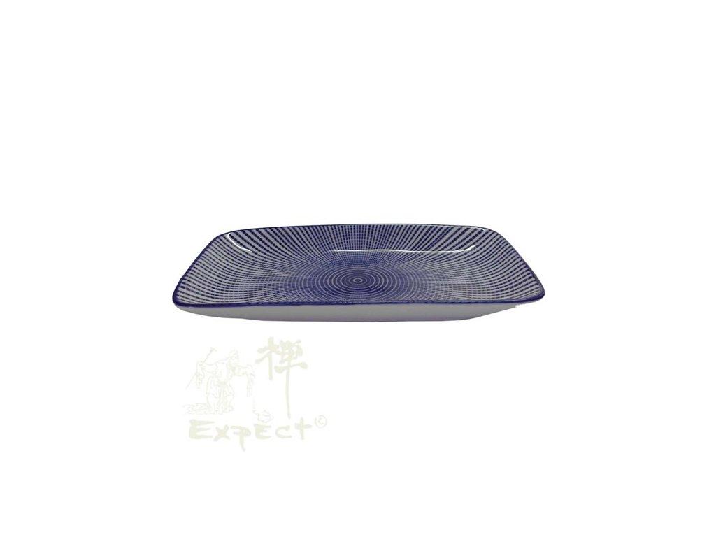 tácek porcelánový Sushi Tokusa Blue 22x12,2x2cm