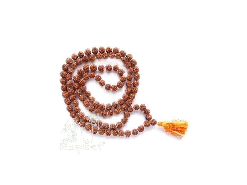 Mála náhrdelník - rudrášový růženec