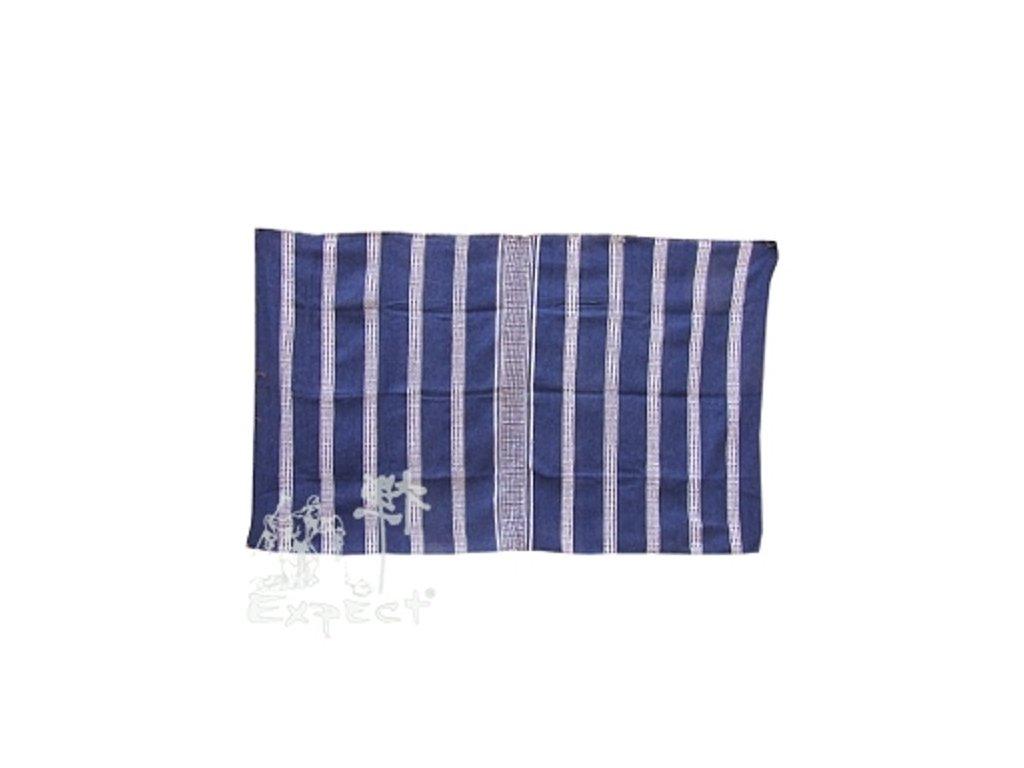Marocká deka 120x210 - modrá