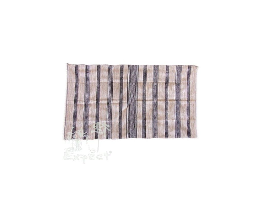 Marocká deka 120x210 - hnědočerná