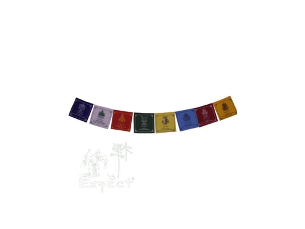 motlitební praporky Tibetan Dharma Symbol