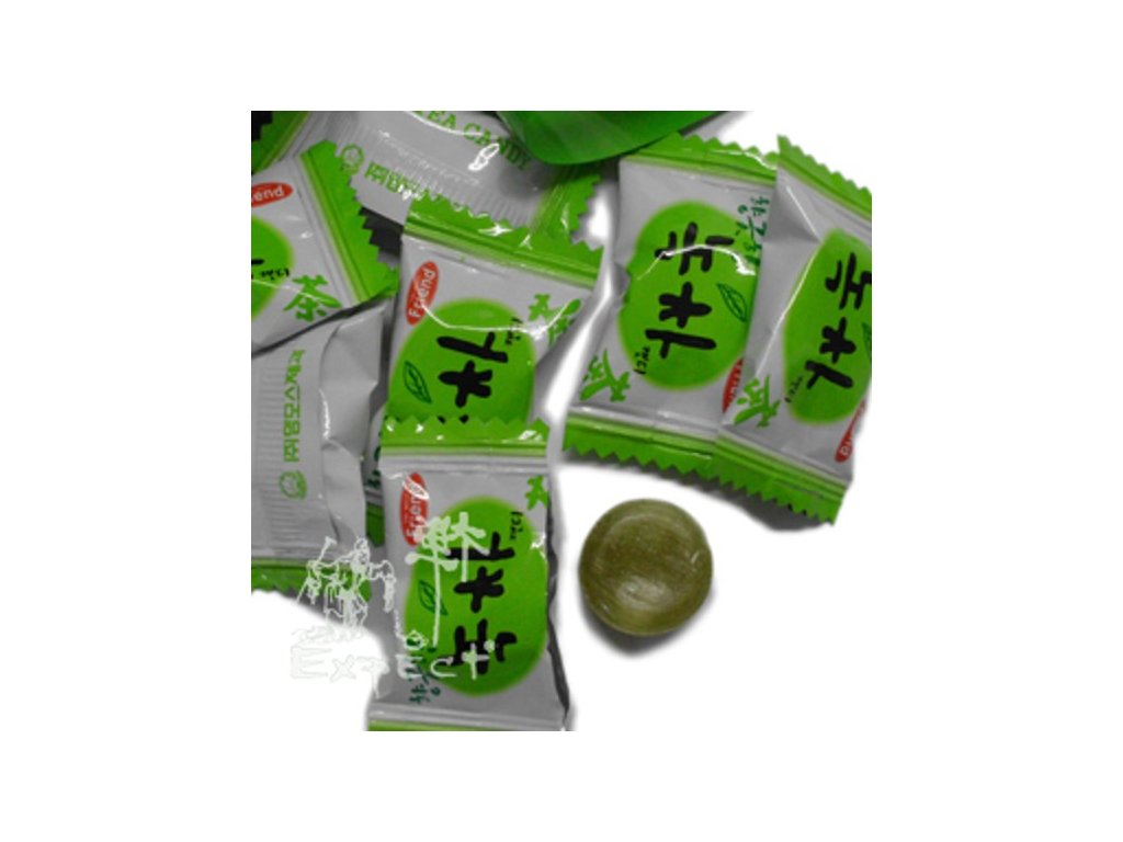Bonbóny Korea - Zelený čaj 1kg
