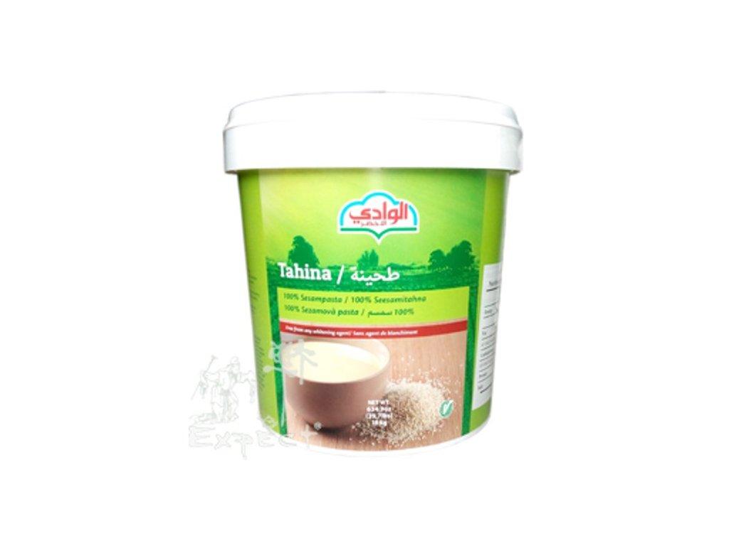 TAHINI AL WADI sezamová pasta 18kg balení