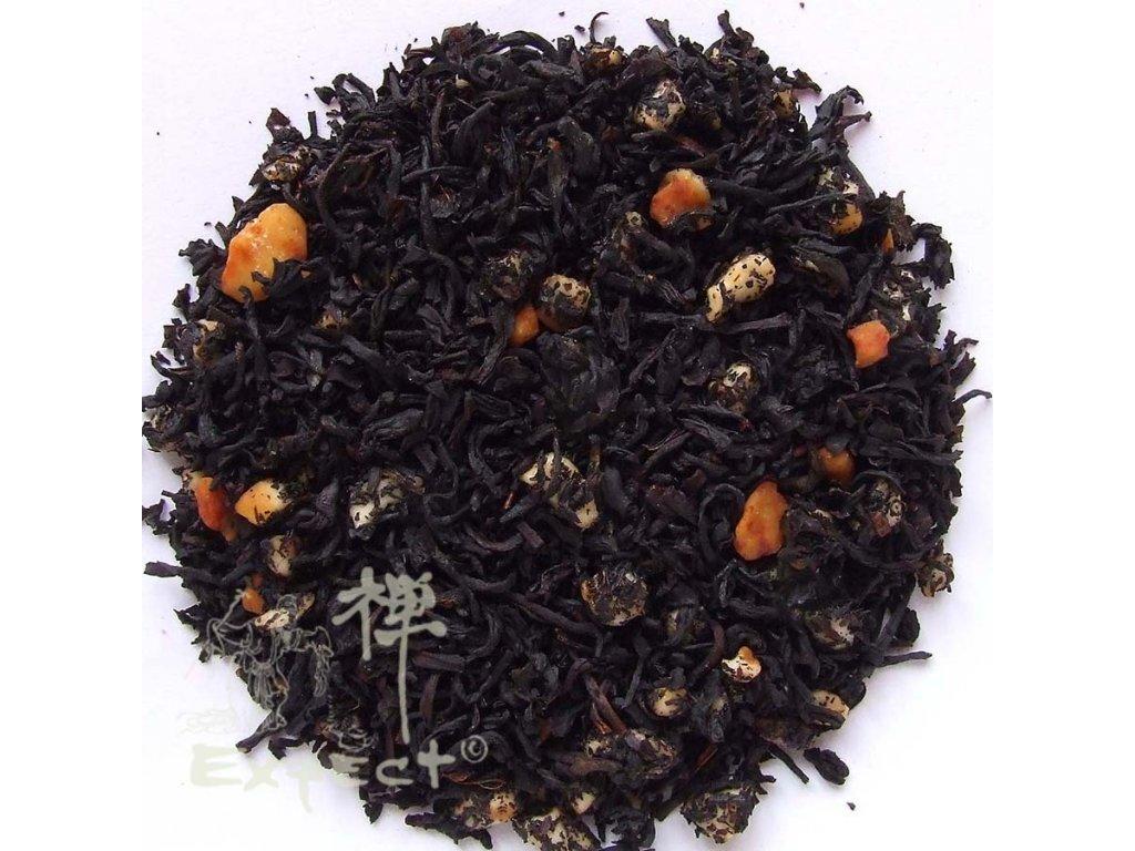 Aromatizovaný čaj Mandlový krém black
