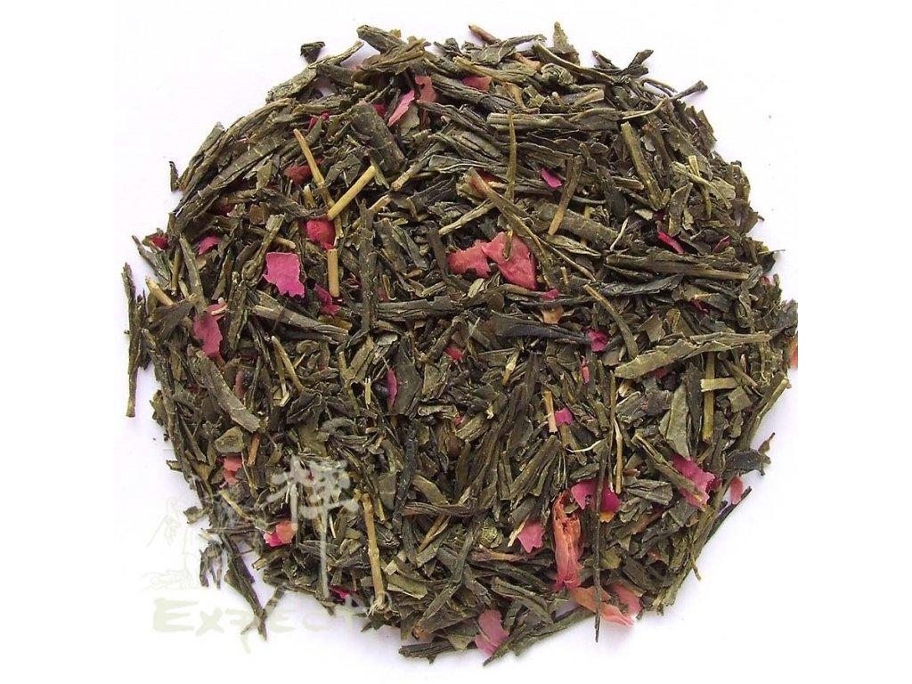 Aromatizovaný čaj Sencha Wild Rose