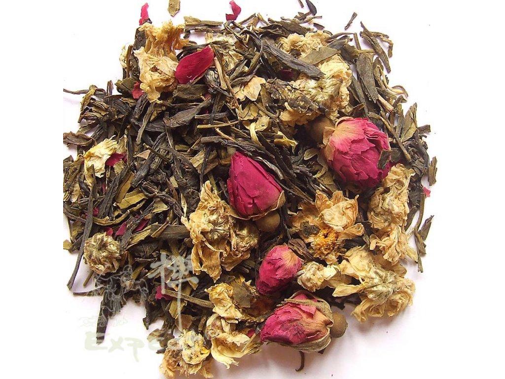 Aromatizovaný čaj Svatý Mořic Green