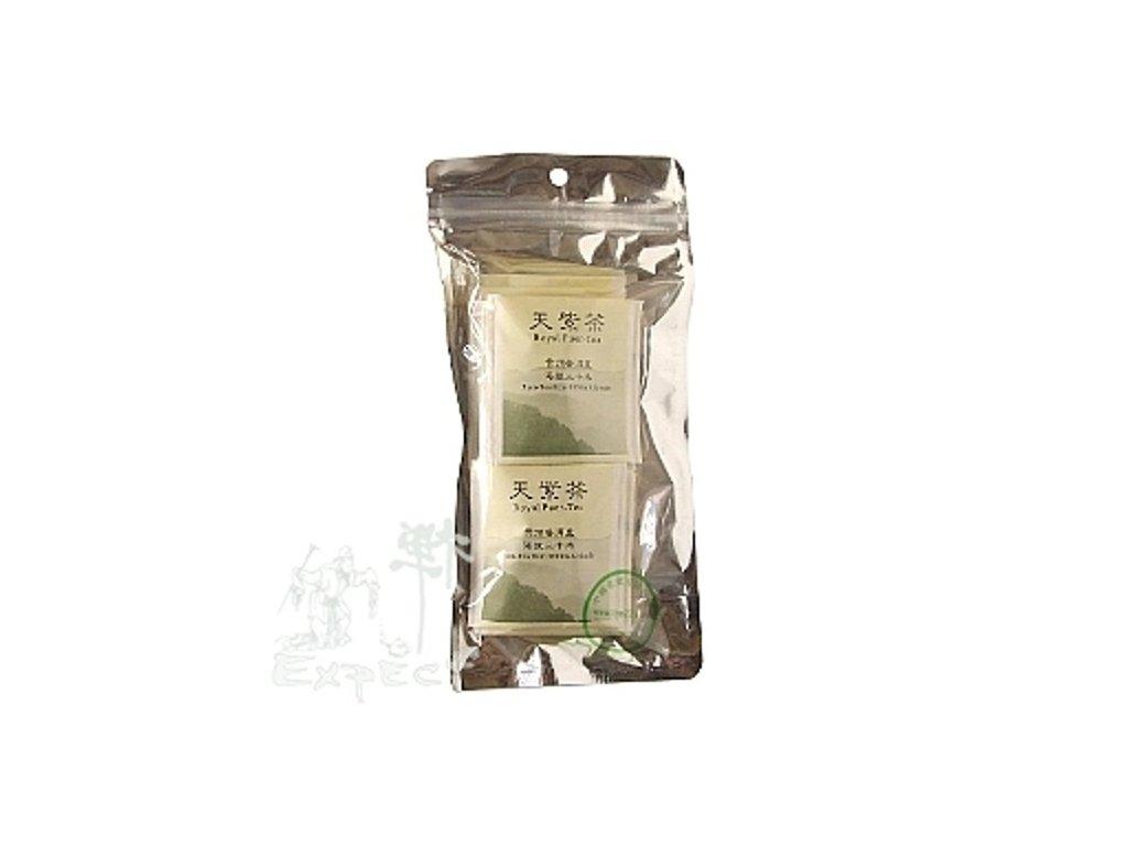 Čaj Pu Erh zelený typ nálevové sáčky 32g