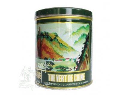 Zelený čaj Chun Mee /plech kulatá