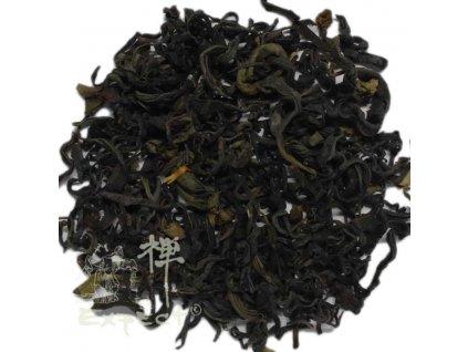 Zelený čaj Grusia green Guria s borůvkovým listím