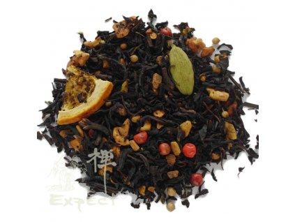 Aromatizovaný čaj Orange cookie black
