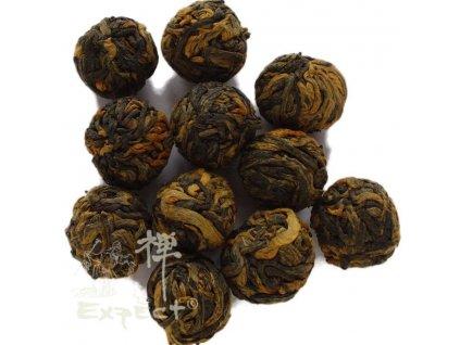 Černý čaj Yunnan Dračí perly black