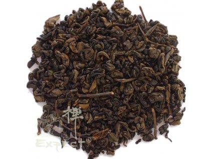 Černý čaj china Gunpowder black pearl