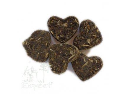 Čaj Pu Erh Yunnan Tea Heart 2-3g /zelený čaj