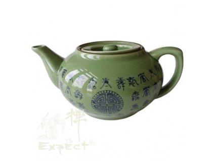 konvice China porcelán Celadon 900ml