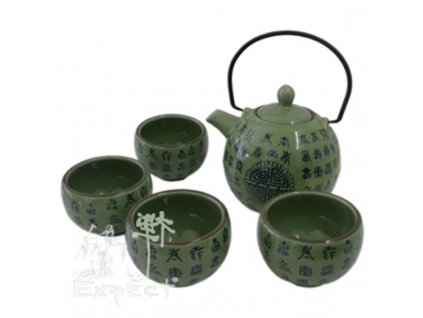 souprava na čaj China Celadon 5ti dílná
