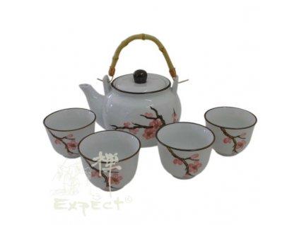 souprava China porcelán Sakura 5ti dílná