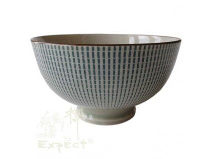 miska China porcelán Tokusa modrošedá 12cm