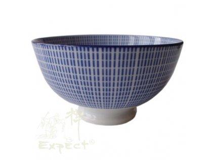 miska China porcelán Tokusa modrobílá 12cm