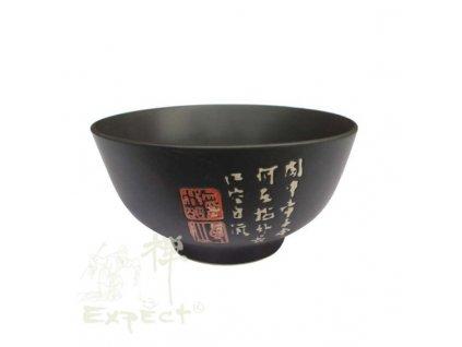 miska China porcelán Black 11,5cm