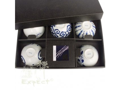 souprava misek Japan porcelán 5ks set 11x8cm