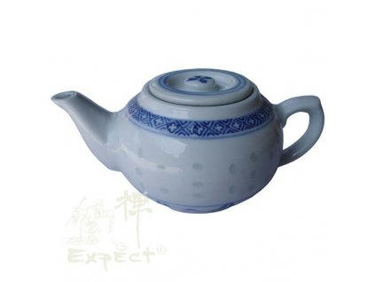konvice na čaj China porcelán Jiangxi rice 0,4l
