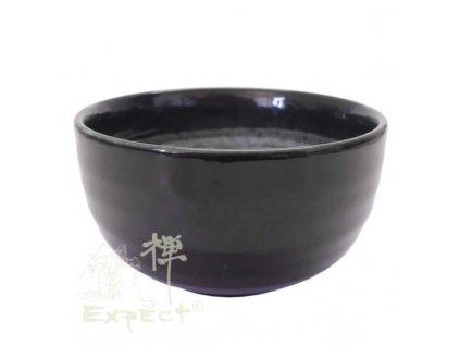 miska kamenina Japan Chawan Black 13cm