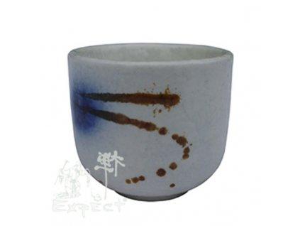 kalíšek saké China porcelán Ogawa 5x4,4cm
