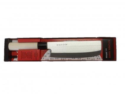 Nůž Japan Nakiri, Sekiryu 17,5/30cm na zeleninu, ovoce, bylinky