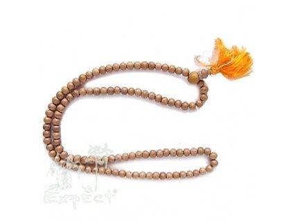 Mála náhrdelník - santalový růženec