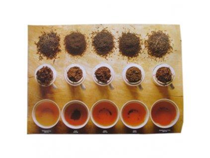 Plakát čajový test